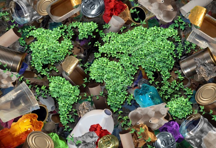 bigstock Recycle Trash And The Environm 112394282