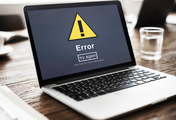 bigstock Error Mistake Online Reminder 132396863