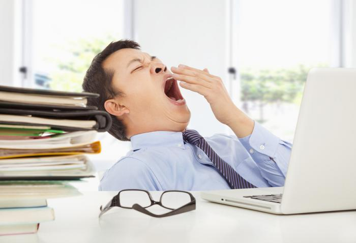 bigstock Exhausted Young Businessman Ya 59022098